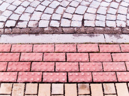 various paving materials