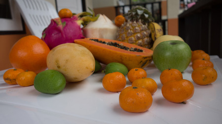 exotic fruits: Composition of exotic fruits