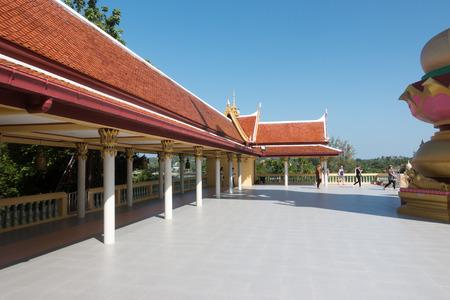 Part of Wat Phra Yai. Wat Phra Yai, known in English as the Big Buddha Temple, is a Buddhist temple on Ko Phan.