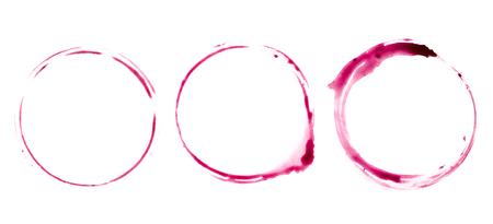레드 와인 한 잔에서 테이블에 추적 스톡 콘텐츠 - 94980876