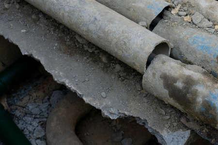Broken pipe.