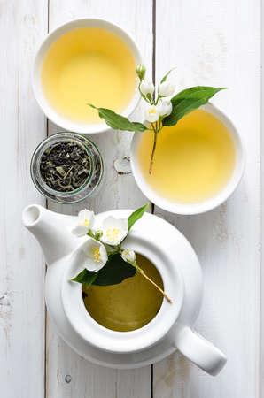 ジャスミンの花茶