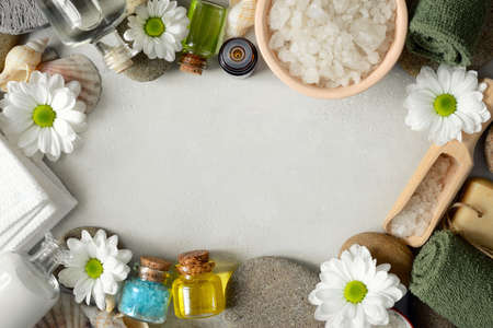Spa background with blank space for a text Stock Photo