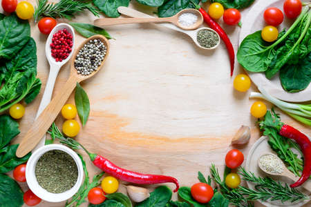 kulinarne: Healthy cooking concept or culinary background
