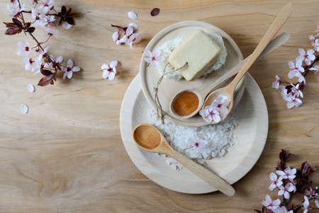 réglage de Spa, beauté concept printemps spa