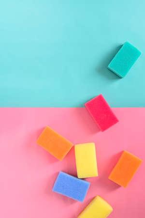 multy: Set of multy coloured sponges