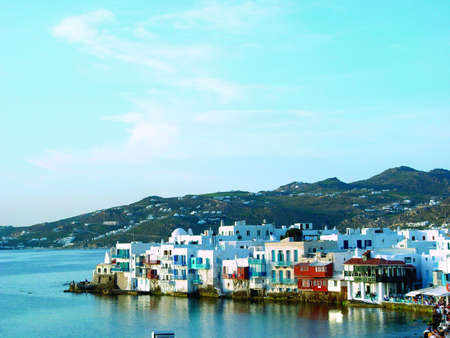 mykonos little venice photo