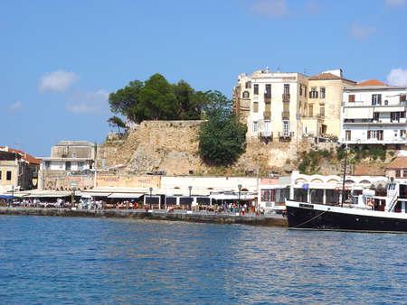 kreta: venetian port hania kreta