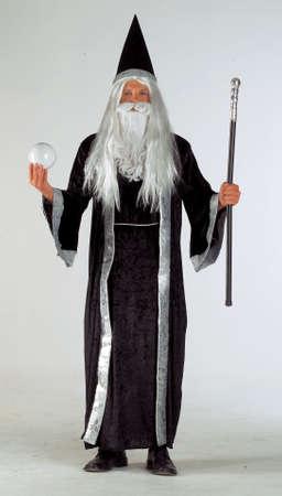 Man in wizard costume photo