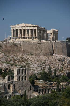 parthenon athens greece landmarks 3 Stock Photo
