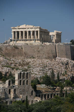 parthenon athens greece landmarks 3 Stock Photo