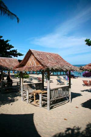 Beach Kiosk Lamai Beach Koh Samui Island thailand photo