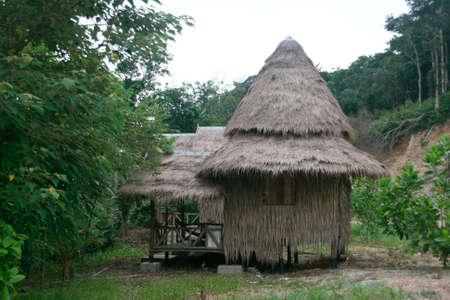 tree house bungalow long beach  koh chang island thailand photo