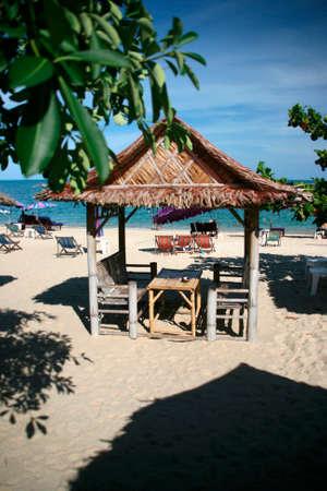 beach Kiosk Lamai Beach Koh Samui Island thailand