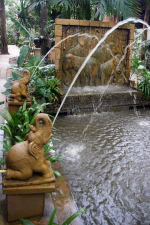 elephant fountain photo
