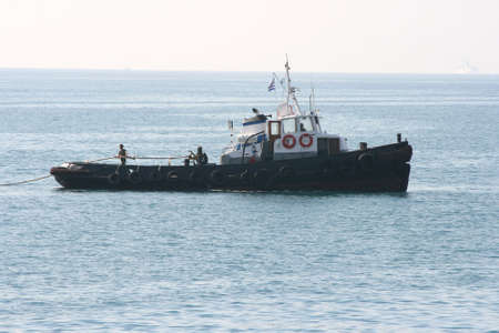 tugboat: tugboat in action ship tender