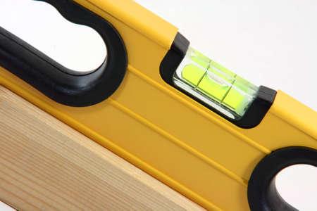 alineaci�n: alineaci�n detalle los conceptos de construcci�n que trabajan con madera detalle en fondo blanco  Foto de archivo