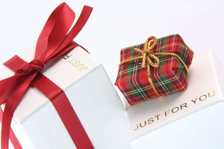 valentines anniversary wedding christmas pressents close up gift boxes just for you shopping concepts photo