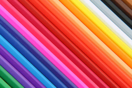 colo: background texture from colo pencils educational concepts Stock Photo