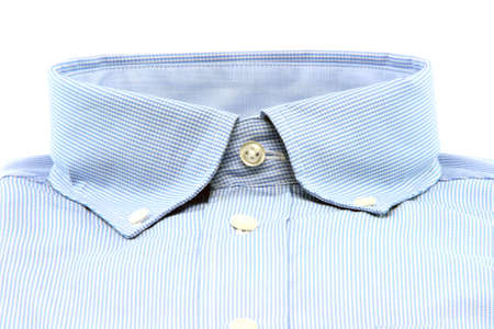 business clothing shirt isolated on white background with copy space fashion  concepts Foto de archivo