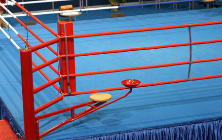 boxing fight ring  detail sports arena photo