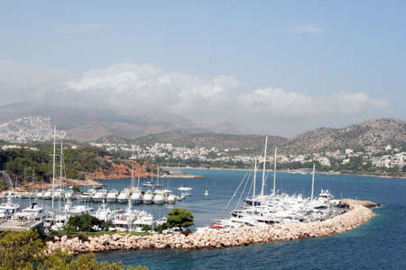 yacht marina of vouliagmeni athens  the most expensive area of greece