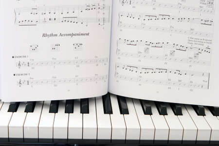 lesson: music lessons book on piano education and arts horizontal