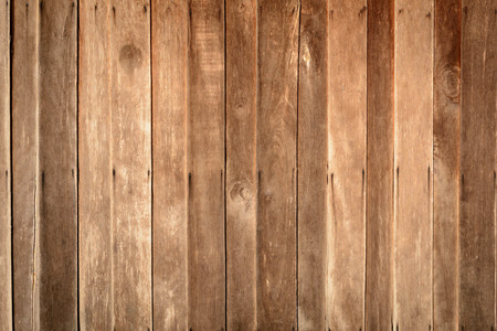 Old brown wood panel wall with textures and backgrounds