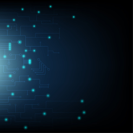 technology digital abstract and background network concept