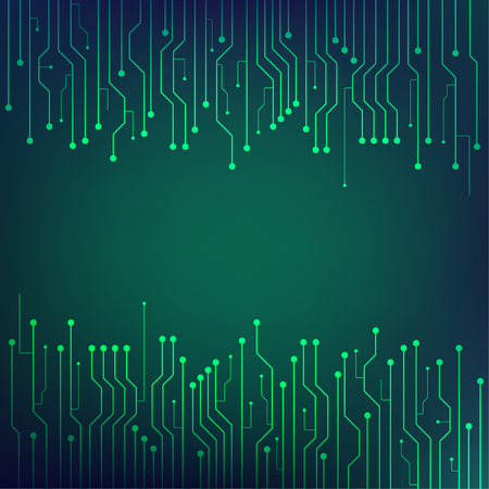 technology digital abstract background with modern network concept