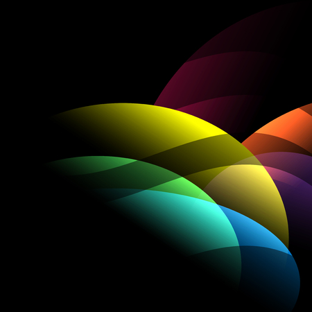 Dark background abstract and colorful with wallpaper vector design Illustration