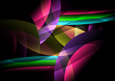 dark background abstract and corlorful with wallpaper vector design Illustration