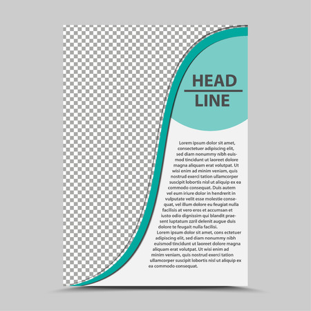 cover brochure template.catalog sheet vector design