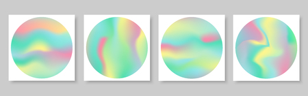 abstract holographic foil texture with vector design.Blurred focus background Illustration