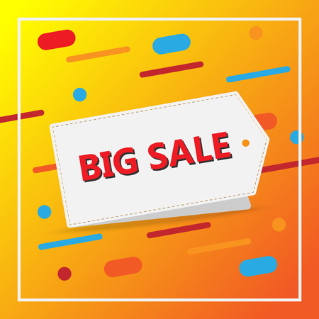 super sale banner promotion with template vector design  イラスト・ベクター素材