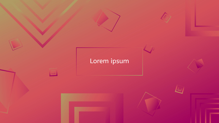 Colorful geometric background abstract and vector design. Eps 10 Illustration