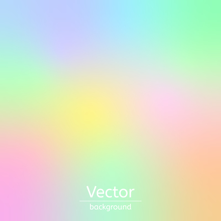 abstract color rainbow background and blurred wallpaper with vector design