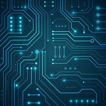 Fondo de sistema geométrico y de conexión de tecnología de alta tecnología con resumen de datos digitales