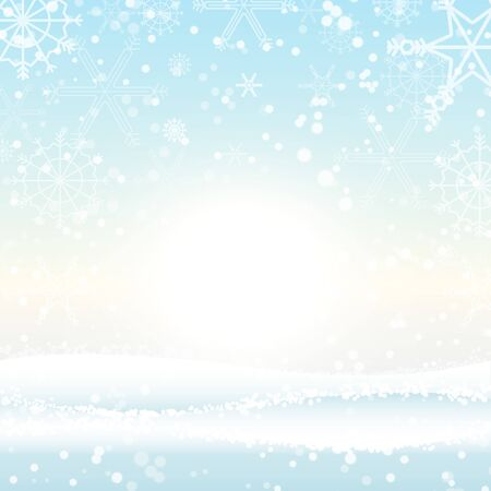 Winter Christmas season with holiday decorations.  space copy text and vector design Reklamní fotografie - 134585390