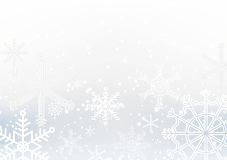 Winter Christmas season with holiday decorations.  space copy text and vector design Reklamní fotografie - 134585400