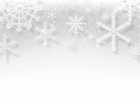 Winter Christmas season with holiday decorations.  space copy text and vector design Reklamní fotografie - 134585402