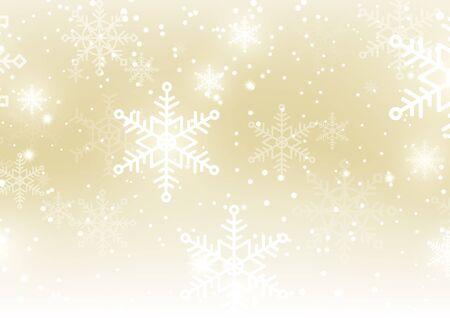 Stagione natalizia invernale con decorazioni natalizie. spazio copia testo e disegno vettoriale Vettoriali