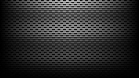 dark carbon fiber texture and pattern wallpaper background Ilustrace