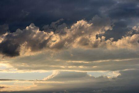skyscape: skyscape  Foto de archivo