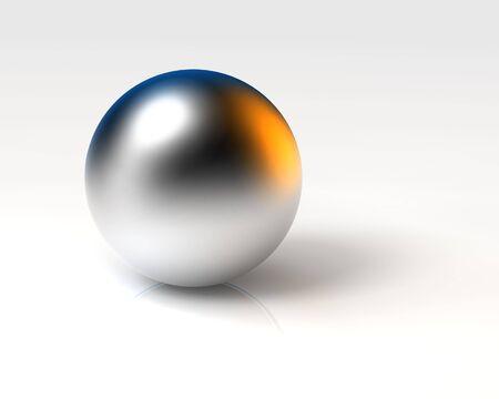 chrome ball Stock Photo - 3712182