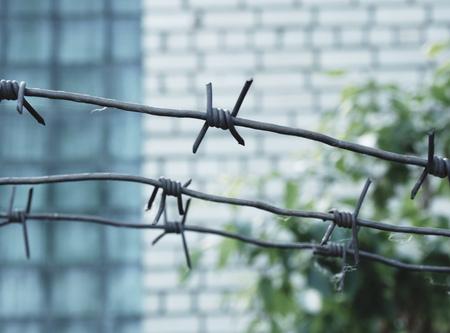 prison: barbed wire, prison, conclusion zone