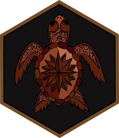 reptilian: sea ??turtle