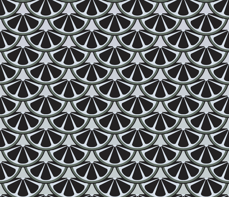 escamas de peces: gray and black seamless pattern resembling fish scales