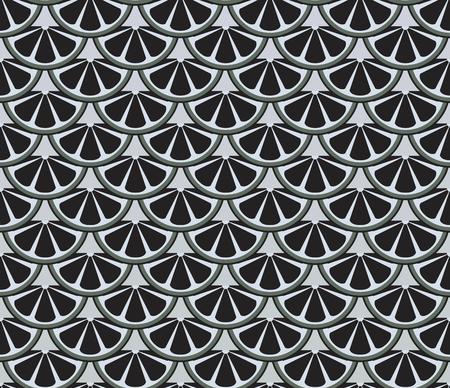 escamas de peces: sin costura patrón que se asemeja escamas de los peces grises y negras