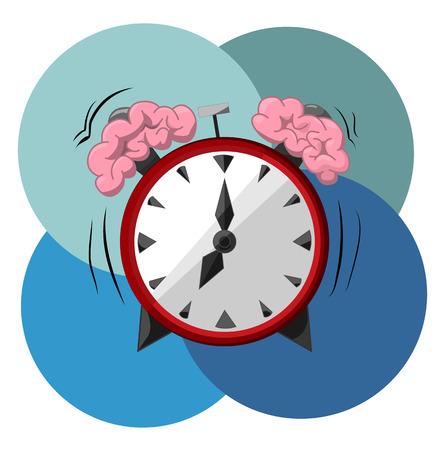 knocking: Service calls and knocks on the brain hemispheres